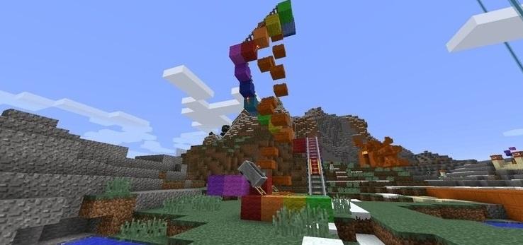 Lucky Block Spiral Mod Screenshot