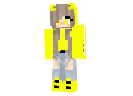 Lyna464 - Minecraft Skin for Girls