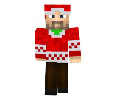 MCGamerLP - Minecraft Christmas Skins for Boys
