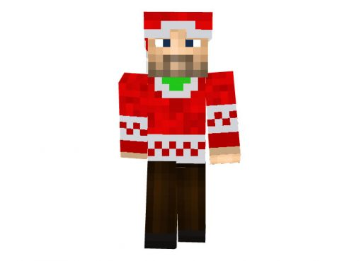 MCGamerLP - Minecraft Christmas Skins for Boys