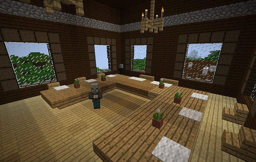 Mansion in the Forest Seed Screenshot 2