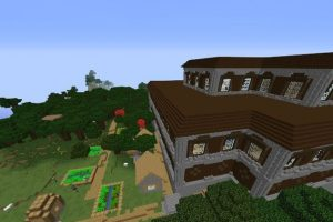 Mansion in the Middle of the Village Seed