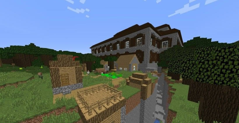 Mansion in the Middle of the Village Seed Screenshot 2