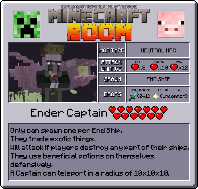 Minecraft Boom Mod Features 2