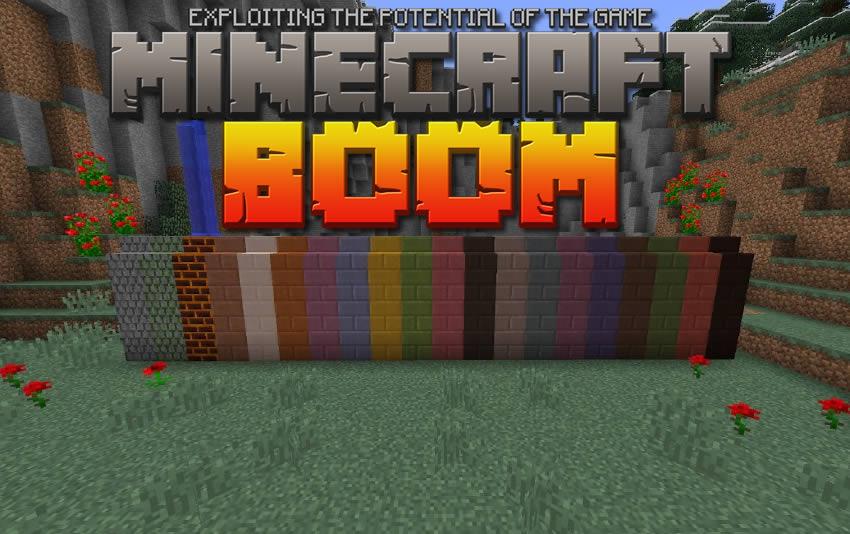 Minecraft Boom Mod 1.14.4/1.13.2/1.12.2