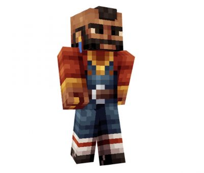 Mr. T (The A-Team) Minecraft Skin