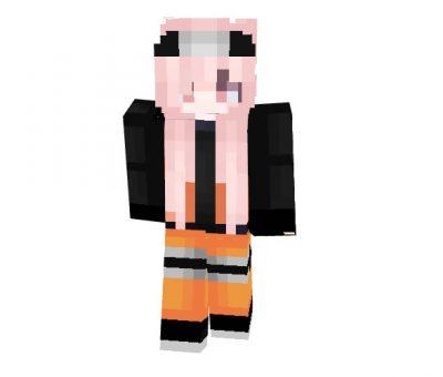 Naruto_Girl - Minecraft Anime Skin