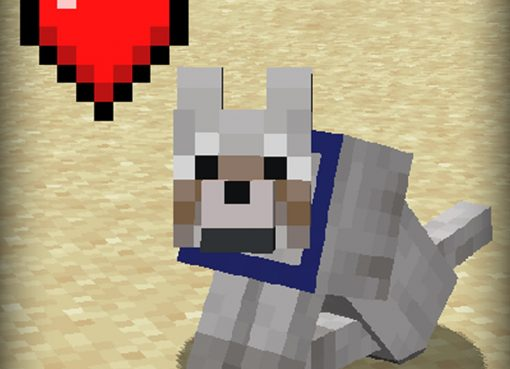 Pet Your Wolf Mod for Minecraft