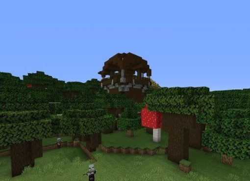 Pillager Outpost and 4 Villages Seed for Minecraft 1.14.4