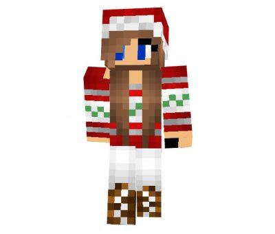 Poison_Ivy13 - Christmas Minecraft Skin for Girls