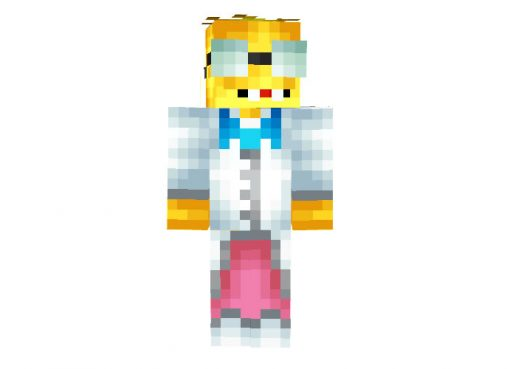 Professor Frink Skin for Minecraft (The Simpsons)