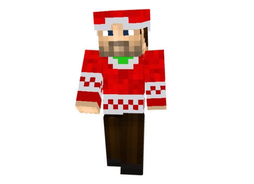Quinofking Minecraft Christmas Skin