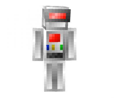 Robot Skin for Minecraft