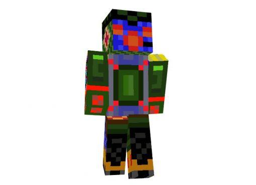 Robot Alien Skin for Minecraft