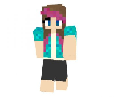 Sheep Party Girl Skin for Minecraft