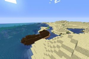 Ship in the Desert Seed for Minecraft 1.13.x-1.14.4