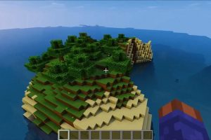 Small Island Seed for Minecraft 1.12.2