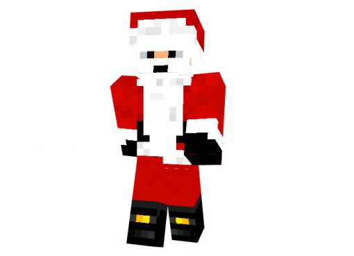 SpaxiNaxi Christmas skin for Minecraft