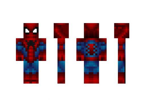 Spider Man Armor Skin for Minecraft