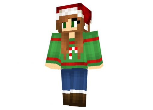 Starliee Christmas Skin for Minecraft