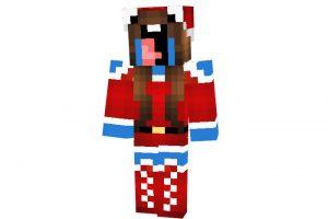 Sugarsoda - Minecraft Christmas Skin for Girls