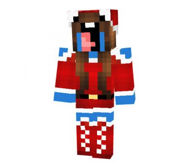 Sugarsoda - Minecraft Christmas Skin for Girls