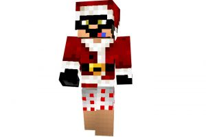 SupahBadNinja - Christmas Skin for Minecraft