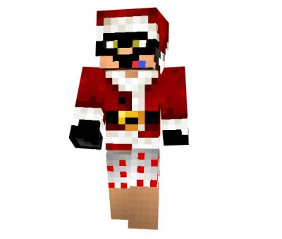 SupahBadNinja - Christmas Skin for Minecraft