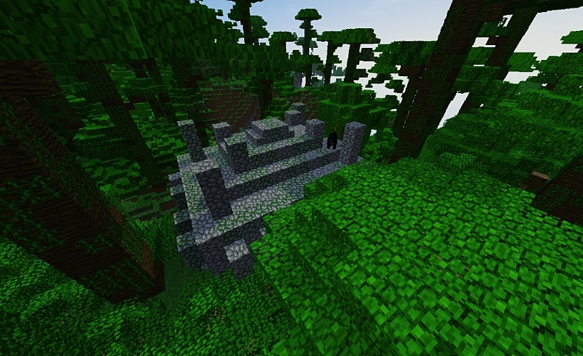 Temple in the Jungle Seed for Minecraft 1.11.2/1.12.2
