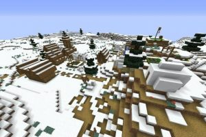 Three Villages Near Winter Biome Seed 1.14.4