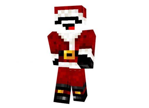 Tribeam Minecraft Christmas Skin