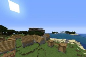 Village And Mansion By The Sea Seed
