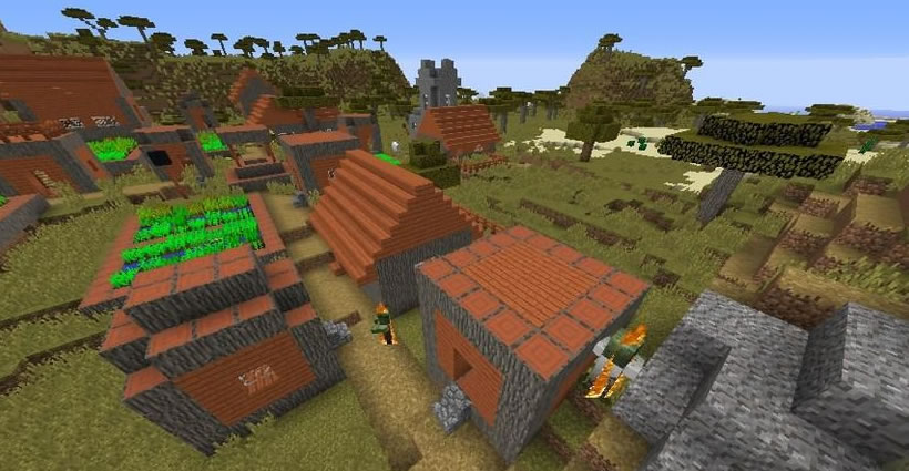 Zombie Village Seed Screenshot
