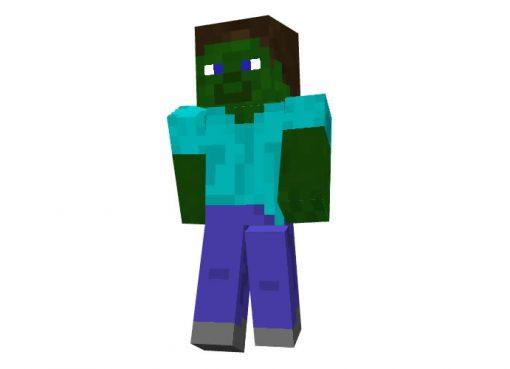 Zombie Steve Skin for Minecraft