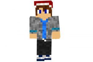 arix12 - Minecraft Christmas Skin for Boys