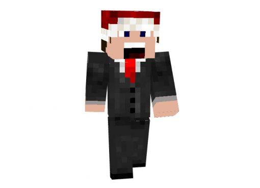 scanix - Christmas skin for Minecraft