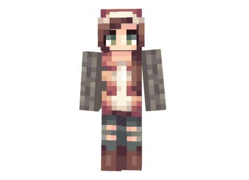 wqgenclik26 - Minecraft Christmas Skin for Girls