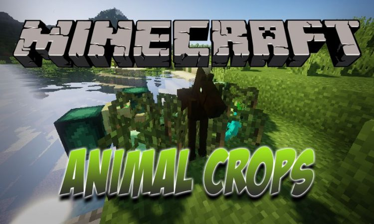 Animal Crops Mod for Minecraft