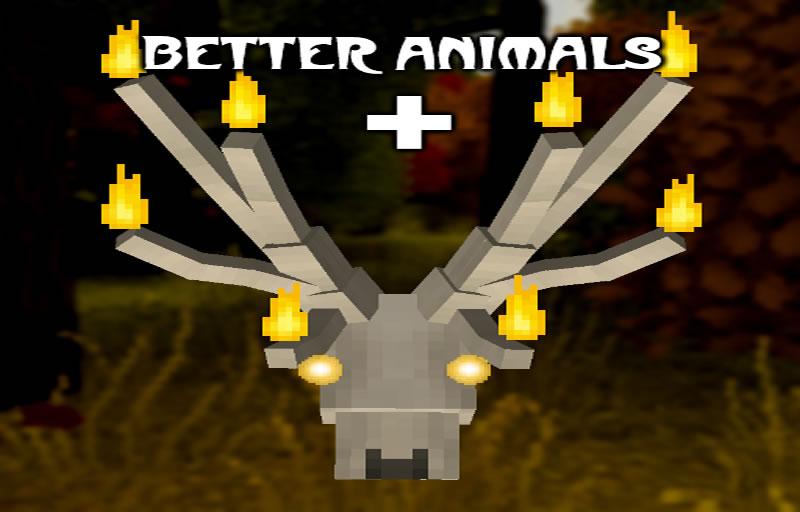 Better Animals Plus Mod