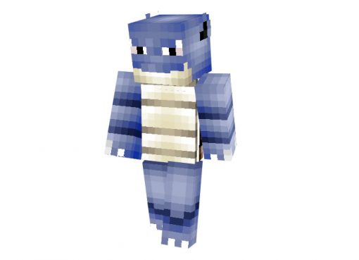 Blastoise Pokemon Skin for Minecraft