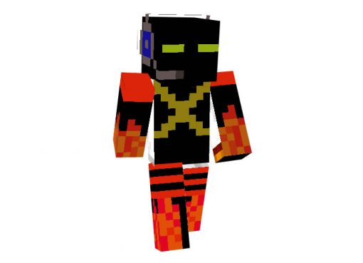 Blazing Mob Minecraft Skin