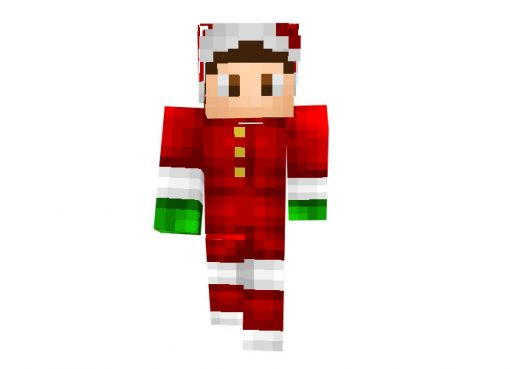 Bobobaal Minecraft Christmas Skin