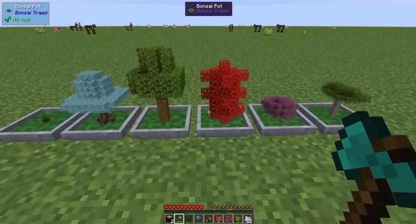 Bonsai Trees Mod Screenshot