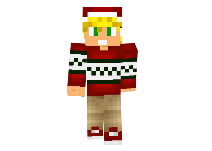 Buca | Minecraft Christmas Skins for Boys