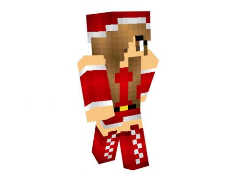 CaramelDreamLand | Minecraft Christmas Skins for Girls