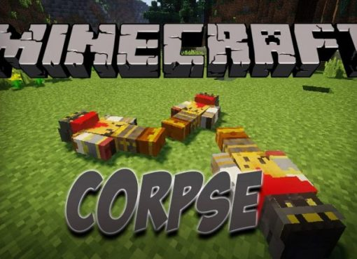 Corpse Mod for Minecraft