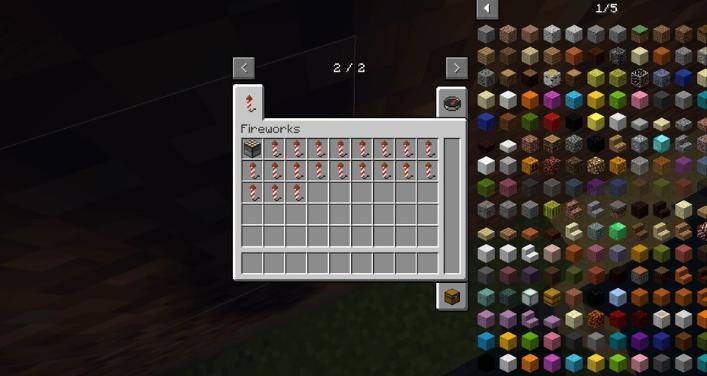 Creative Fireworks Mod Screenshot