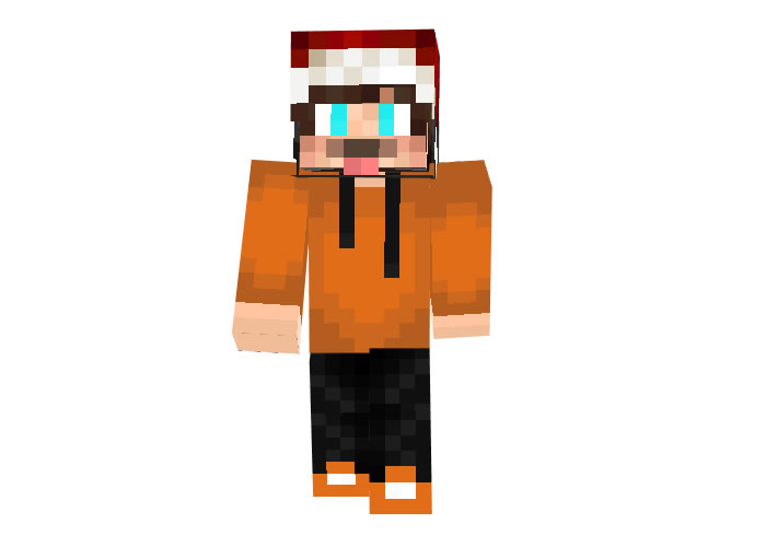 DAYELA Minecraft Christmas Skin for Boys