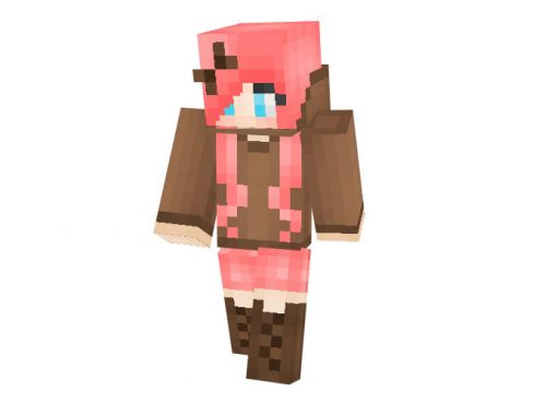 Domo Girl | Minecraft Skins for Girls