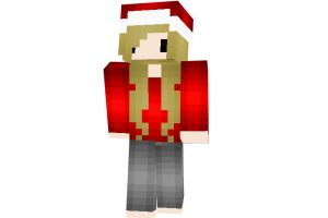 DoubleBubblez | Minecraft Christmas Skins for Girl